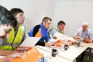 Safety Decking training