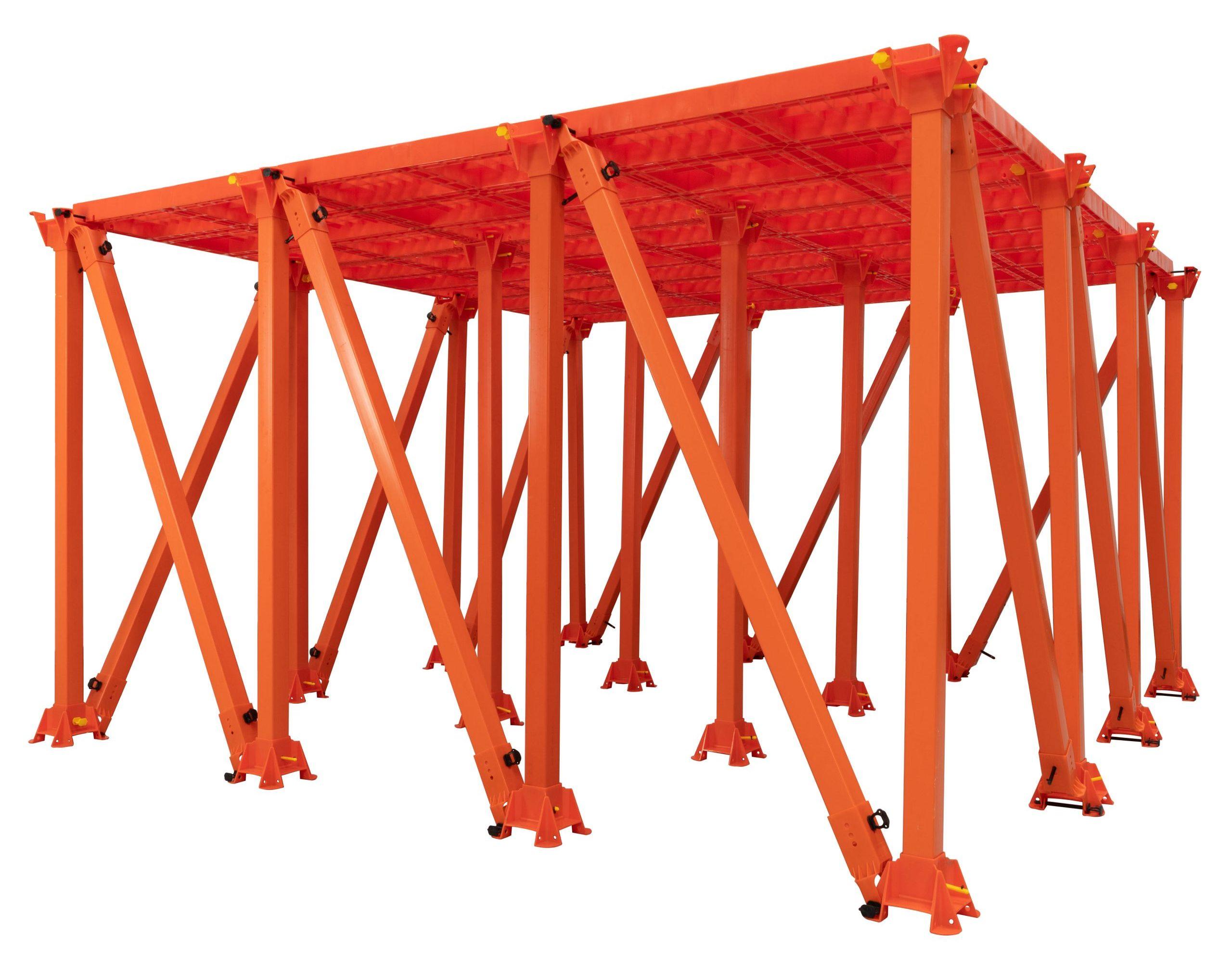 Freestanding Crash Deck